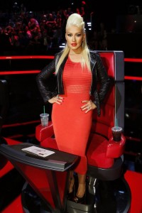 """THE VOICE -- """"Live Top 12"""" Episode 813A -- Pictured: Christina Aguilera -- (Photo by: Trae Patton/NBC)"""